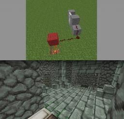Fireplace unlocking door Minecraft Blog Post