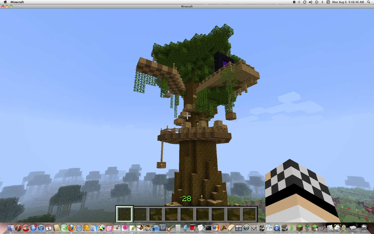 Full View Of The Tree House