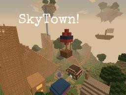 SkyTown! -Contest entry!- Minecraft Map & Project