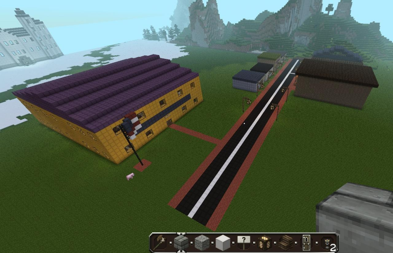 The Town Of South Park Minecraft Project
