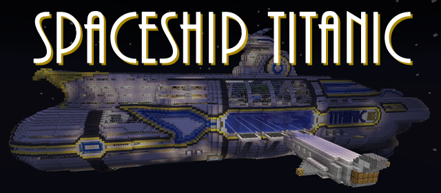 how to make a titanic ship in minecraft