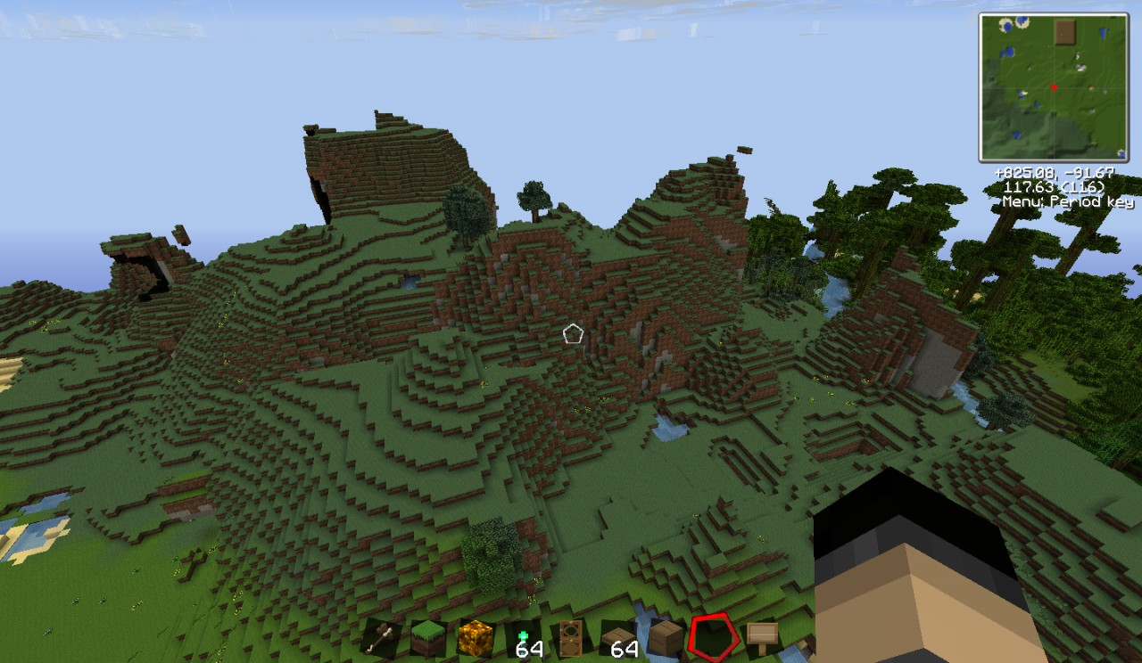 Epic Hills Right Behind Spawn!