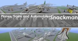 Planes, Trains and Automobiles [Supports Zeppelin Mod] Minecraft Map & Project