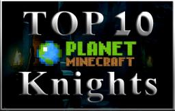 Top 10 Knight Skins of all time! Minecraft Blog Post