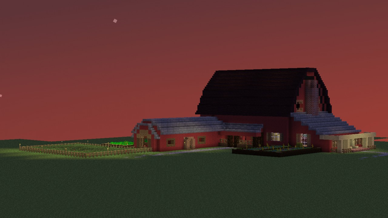 Barn House  Minecraft Project
