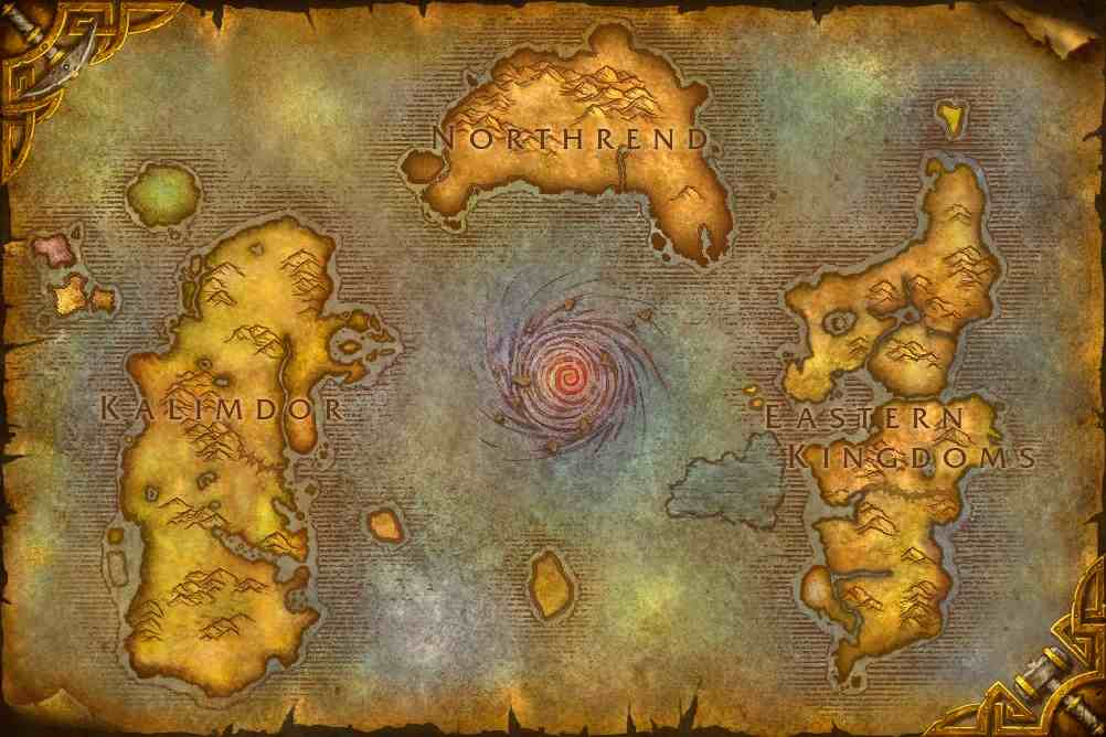 World of Warcraft WoW map of Azeroth Minecraft Project