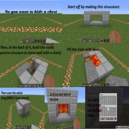 Hide his chests in Minecraft [1.3.1] Minecraft Blog Post