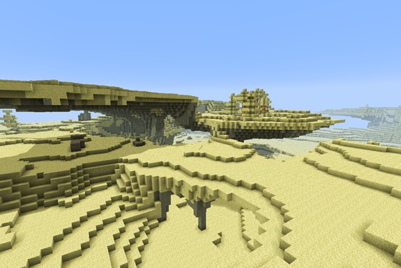 The Desert World on MCA Craft