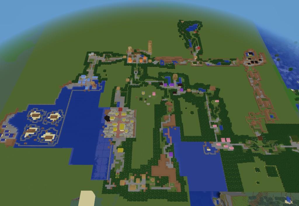 Kanto Region Map Minecraft - #traffic-club