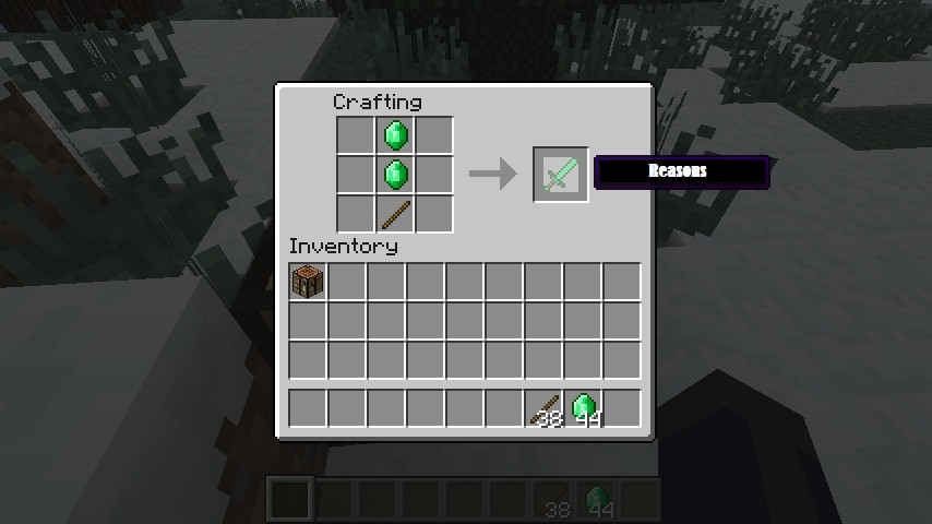 The Reason I Don 39 T Fix Emerald Tools And Armor Mod Bug
