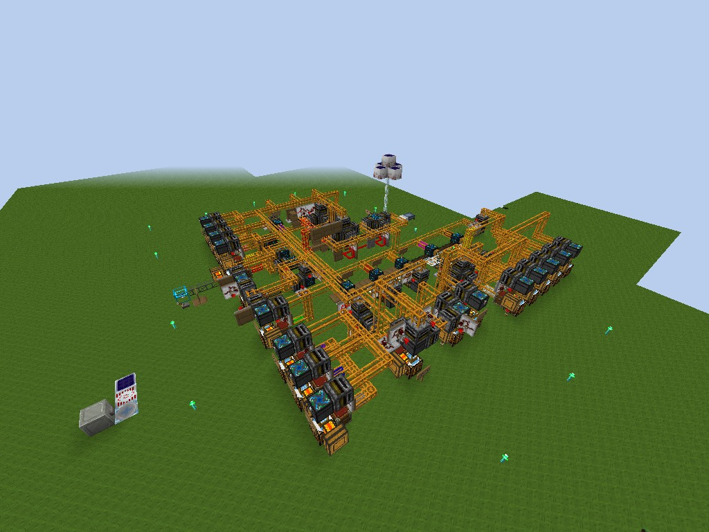 Hv Solar Array Factory Tekkit 3 1 2 Minecraft Project