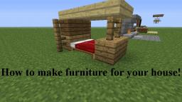 How To Make Furniture For Your House - With Images! Minecraft Blog Post