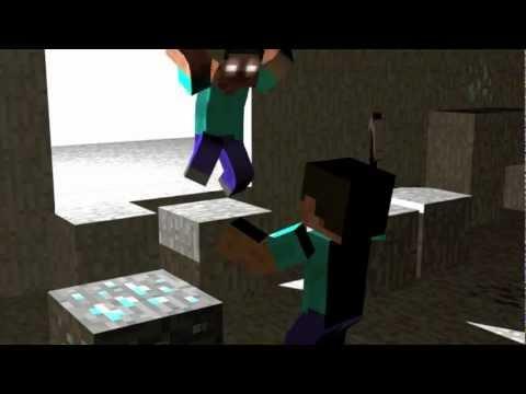 Minecraft Herobrine Vs Steve The battle for minecraftia!