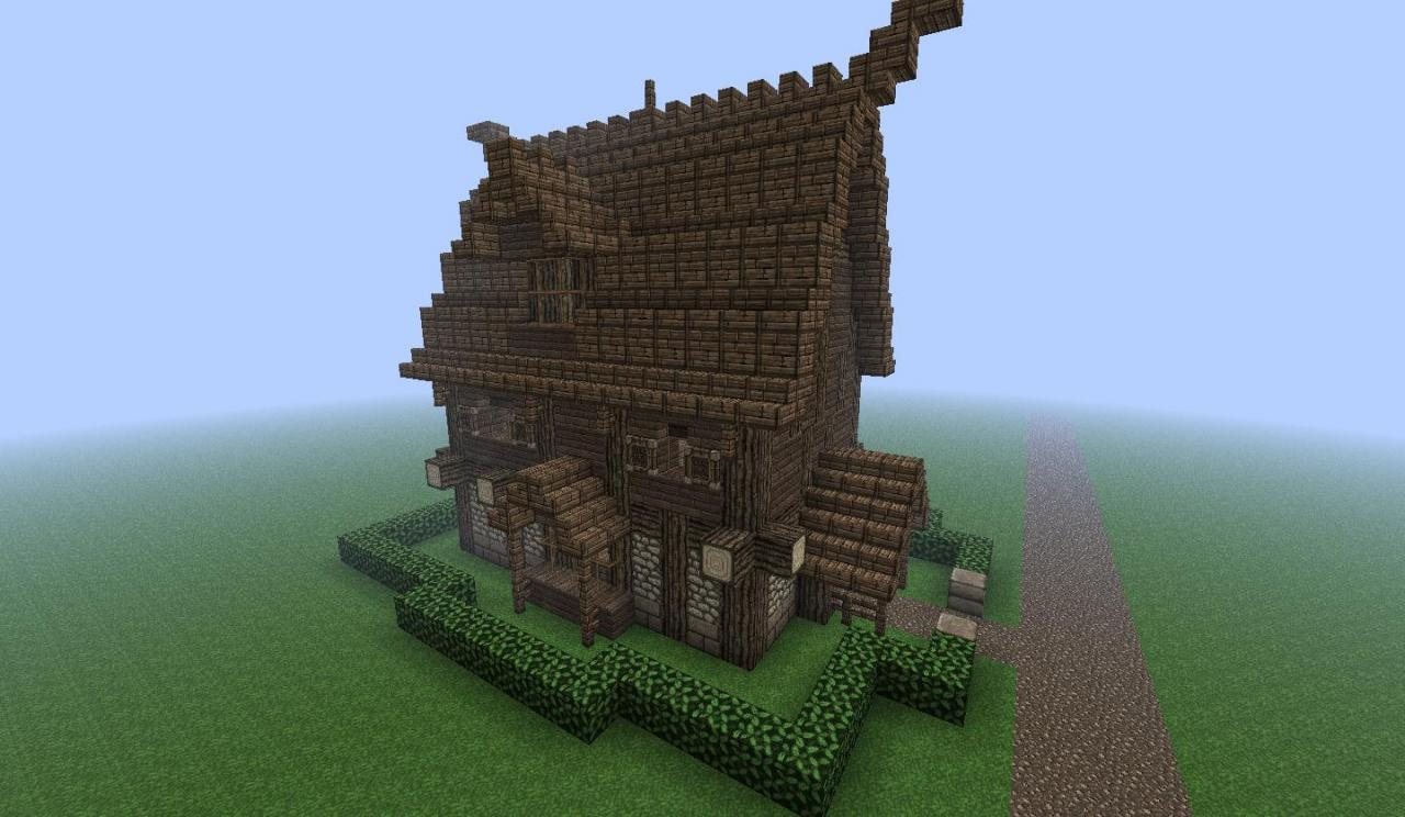 luxury viking house minecraft project