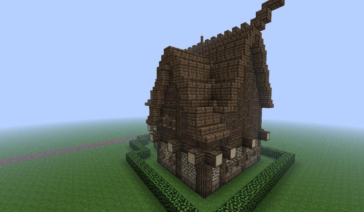 Luxury Viking House Minecraft Project