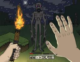 Steve meeting Enderman! Minecraft Blog Post