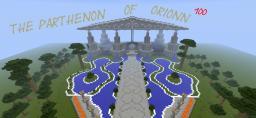 nouveau parthenon d'orionn100 Minecraft Map & Project