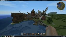 Small Coast Town (3.5) Minecraft Map & Project