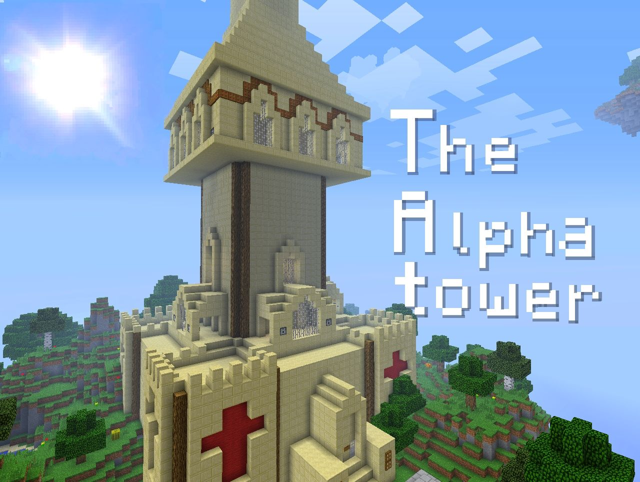 The Alpha Tower Minecraft