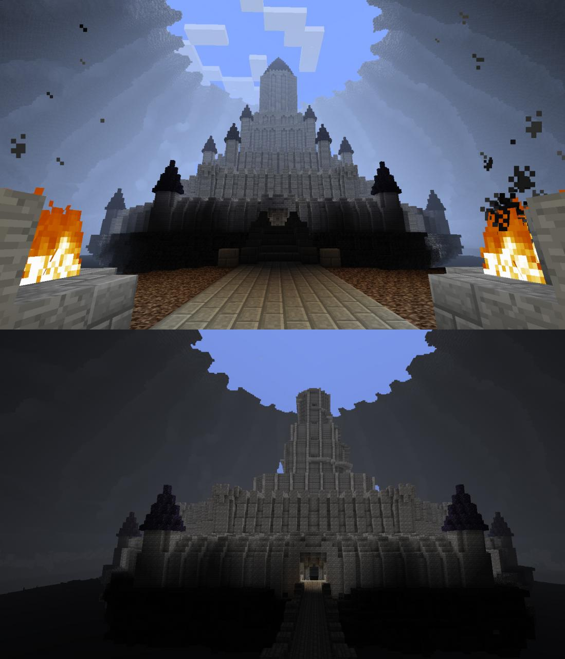 Ganon S Castle Ocarina Of Time Minecraft Project