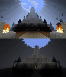 Ganon's Castle Ocarina of Time Minecraft Map & Project
