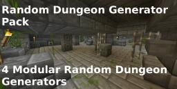 Random Dungeon Generator Pack (4 Random Dungeon Generators) Minecraft