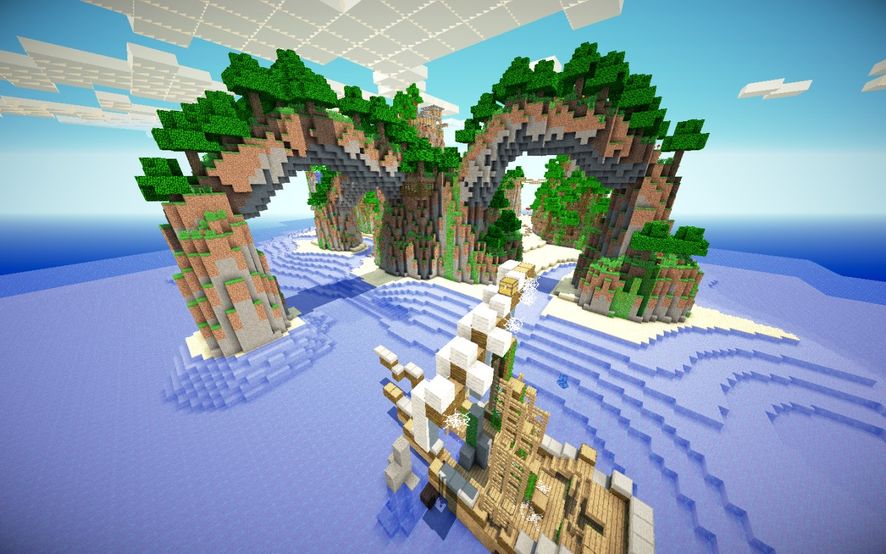 Minecraft Survival Games Breeze Island Map Download