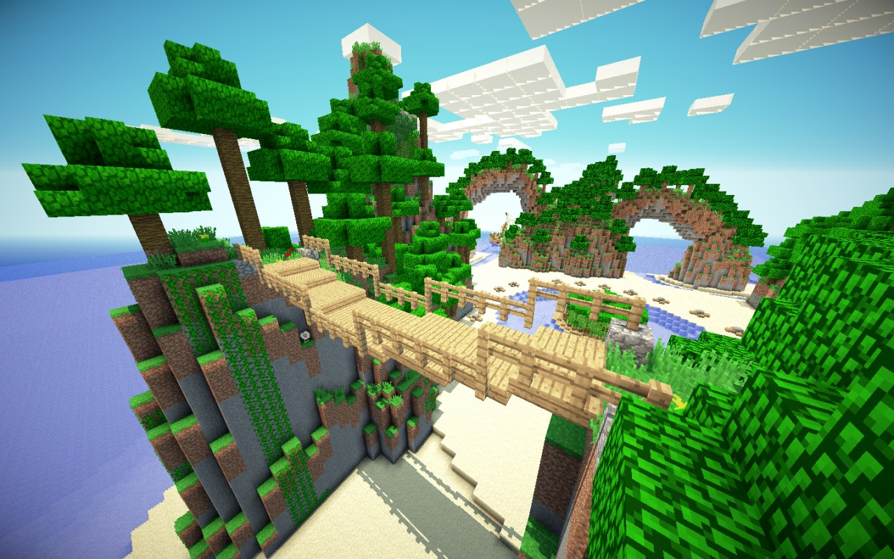Minecraft survival games breeze island minecraft project for The game mind craft