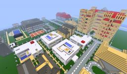LUXURY VILLAGE Minecraft Project
