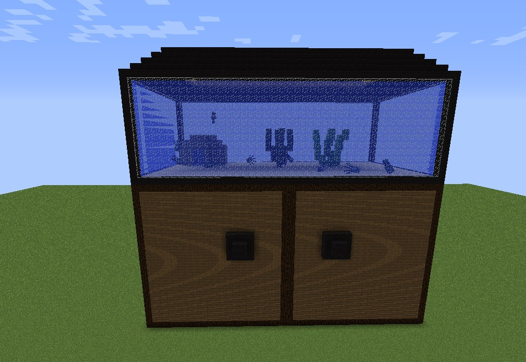 How To Build A Fish House In Minecraft