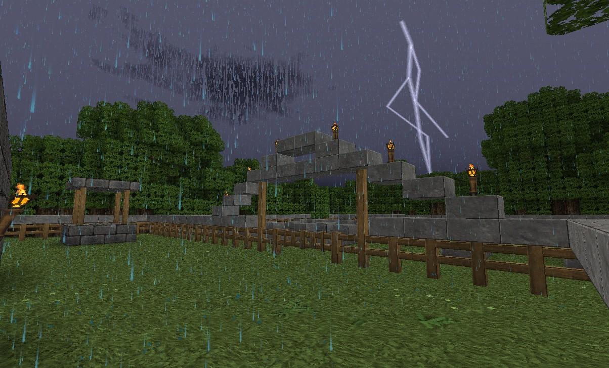thunder at the graveyard