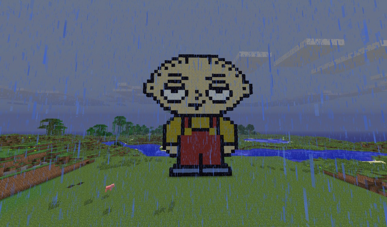 Stewie Griffin Family Guy Minecraft Project