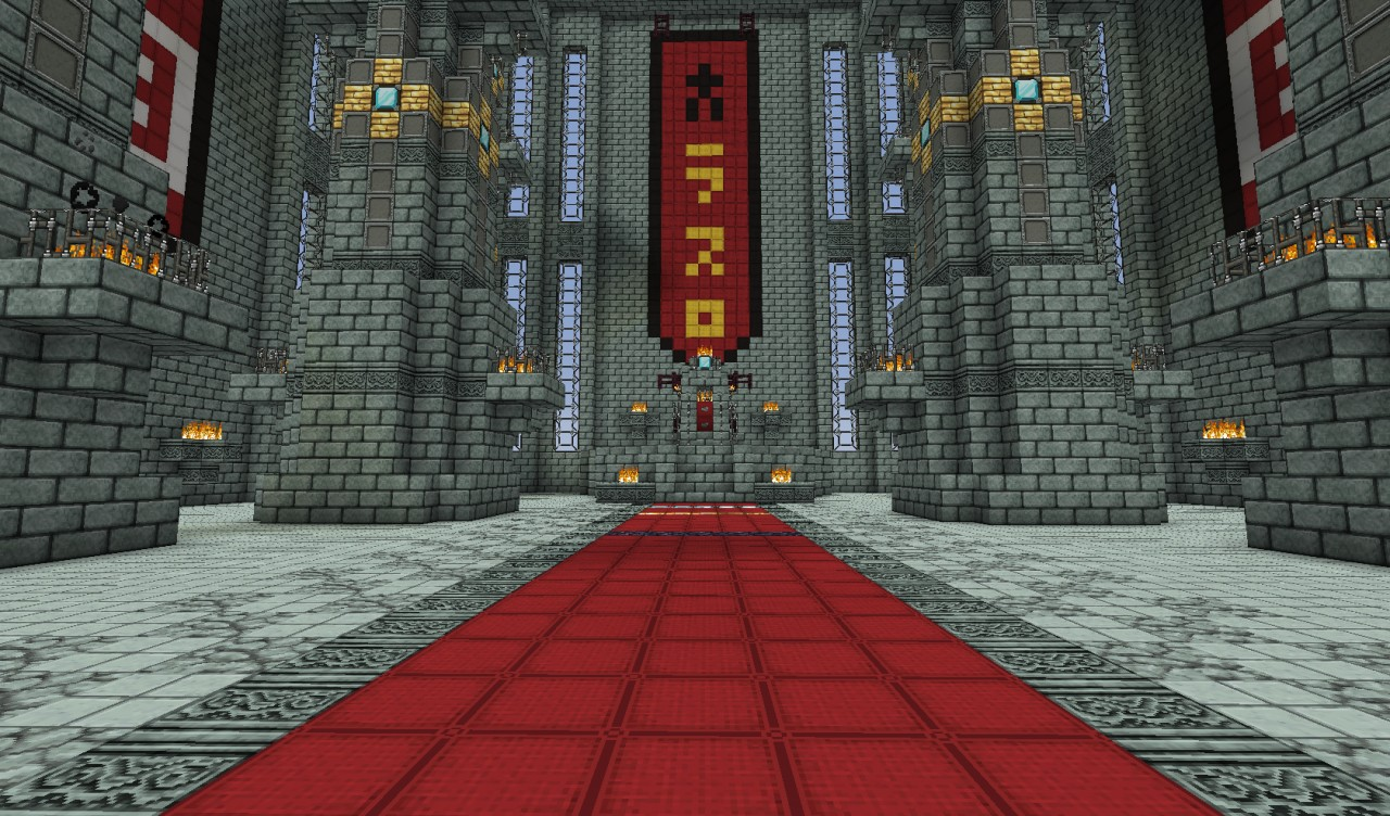 minecraft throne room holy vector minecraft project