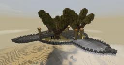 Aerial Spawn Platform Minecraft Map & Project