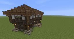 Diagonal House Minecraft Project