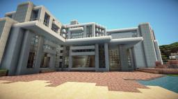 Minecraft - Modern House Minecraft Project