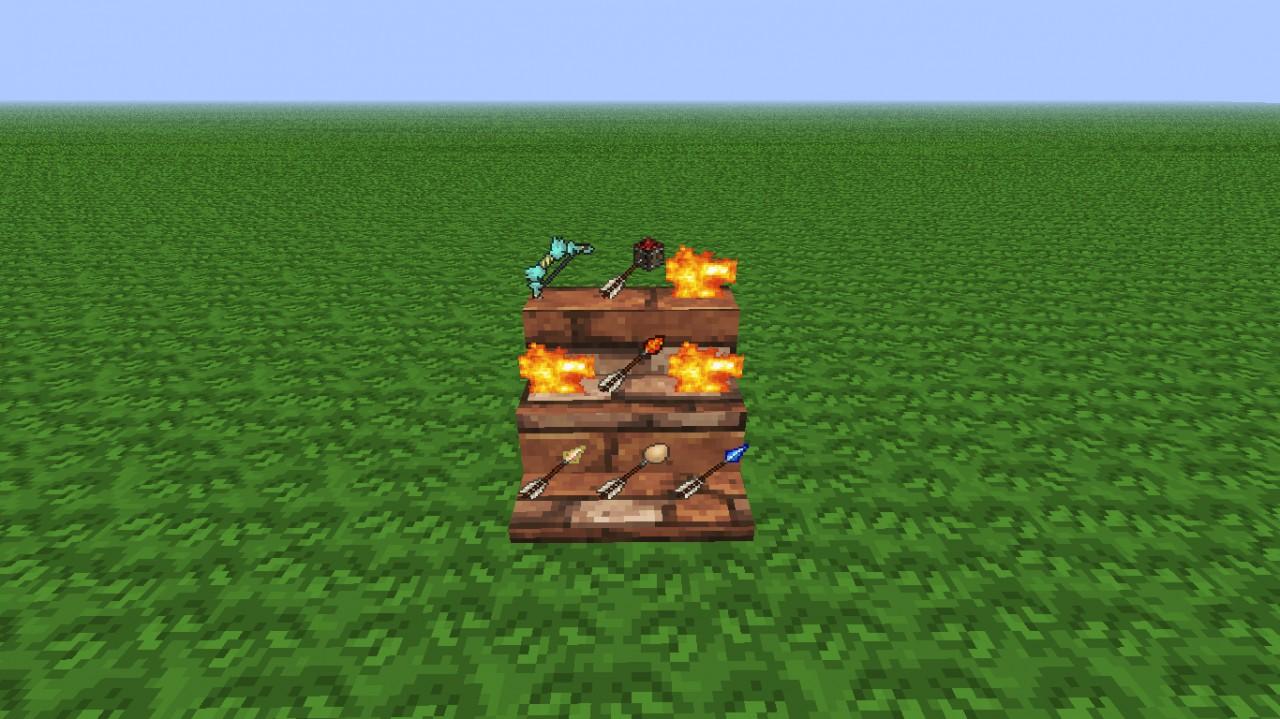 Mod Review 2 Elemental Arrows Mod Includes Part Shelf