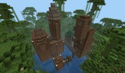 Jungle Towers Minecraft Map & Project