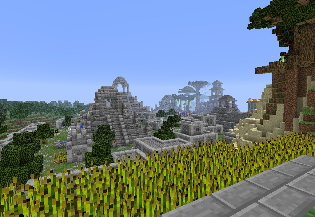 Aztec City Minecraft Project