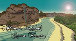Island - Custom Terrain Minecraft Map & Project