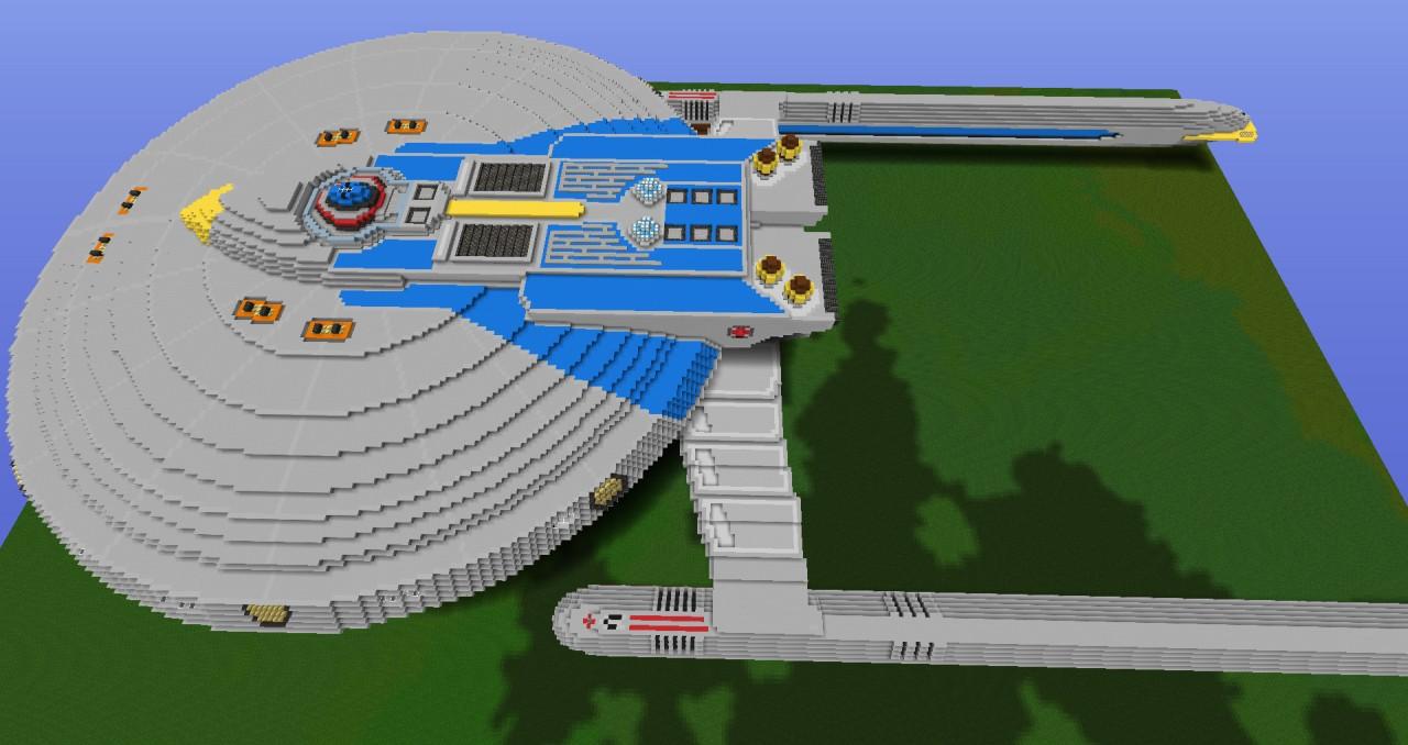 Star Trek Uss Centaur Ncc 42043 Minecraft Project