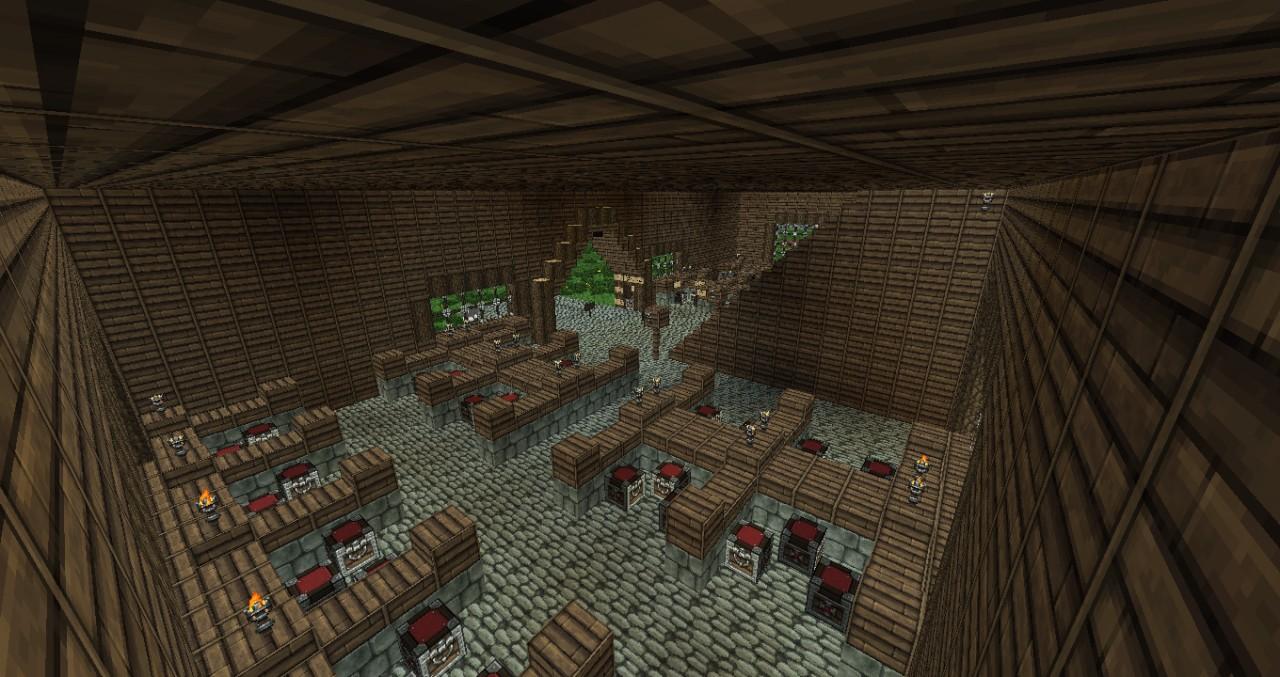 Interior of the Market!