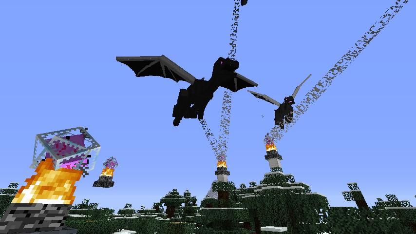 Zombie Master Ender Dragon Spawner &...