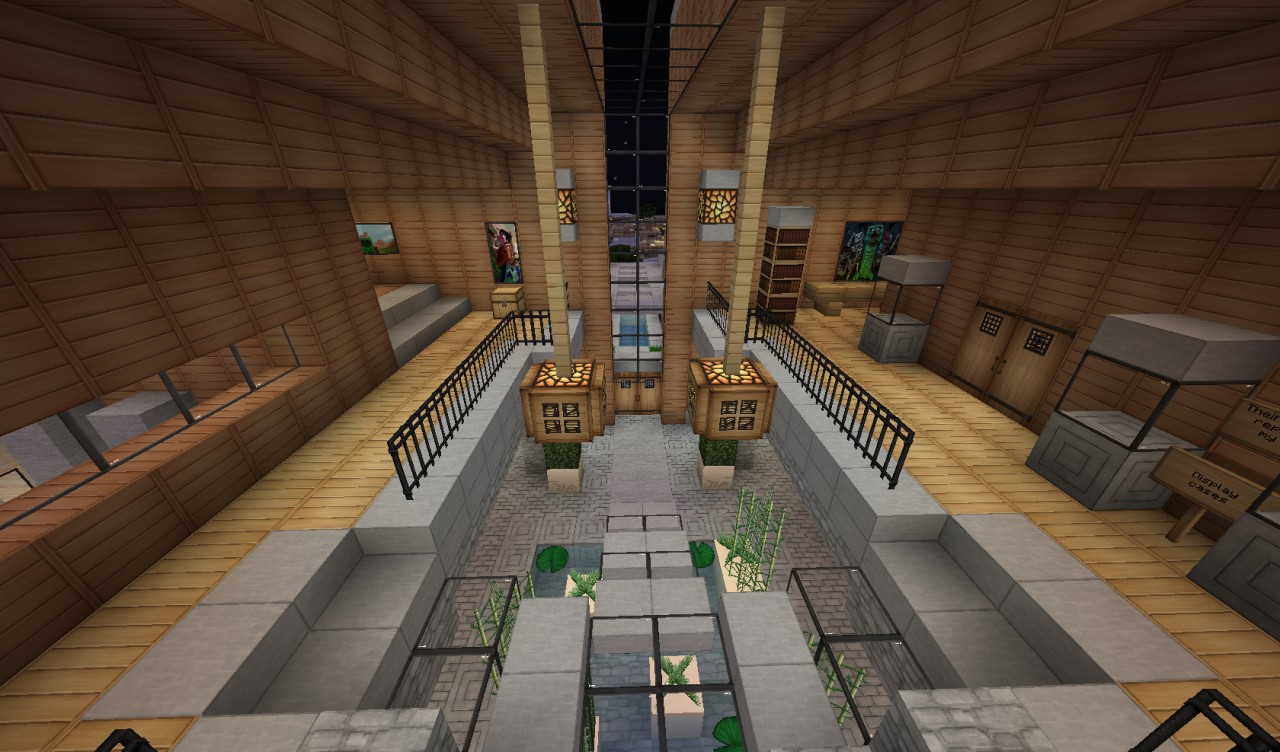Minecraft Foyer Ideas : Sunset hills home world of keralis server minecraft project