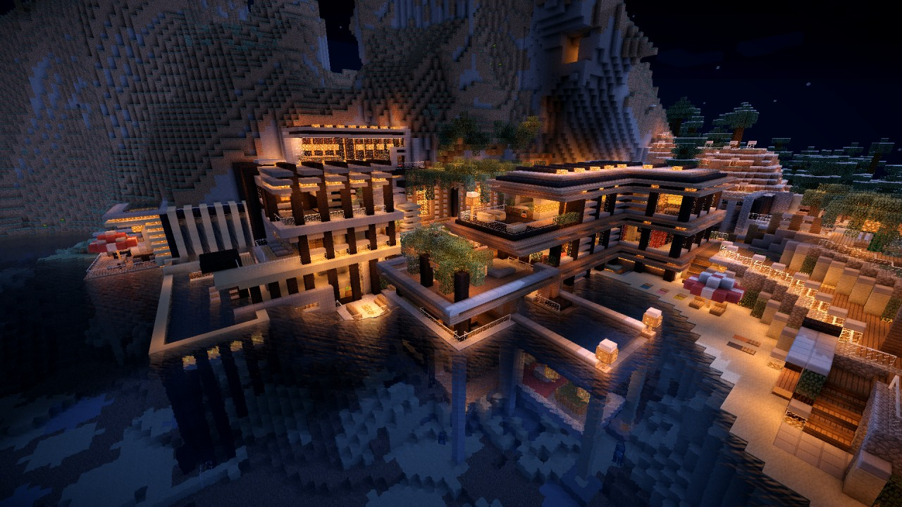 Luxurious Cove House Map Download Minecraft Forum - Coole maps fur minecraft zum downloaden