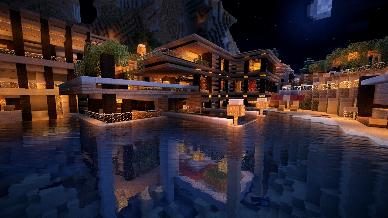 1.8 Luxurious ove House Map Download Minecraft Forum - ^