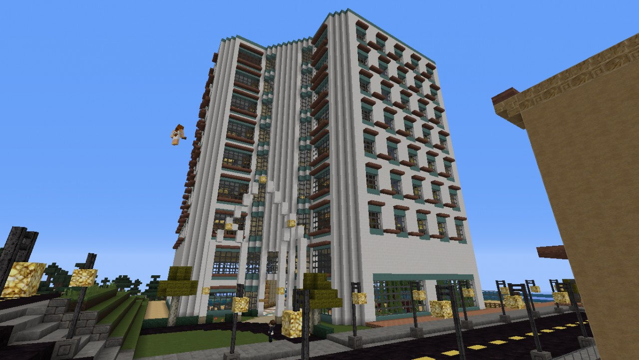 Appartment Building New Server Minecraft Project