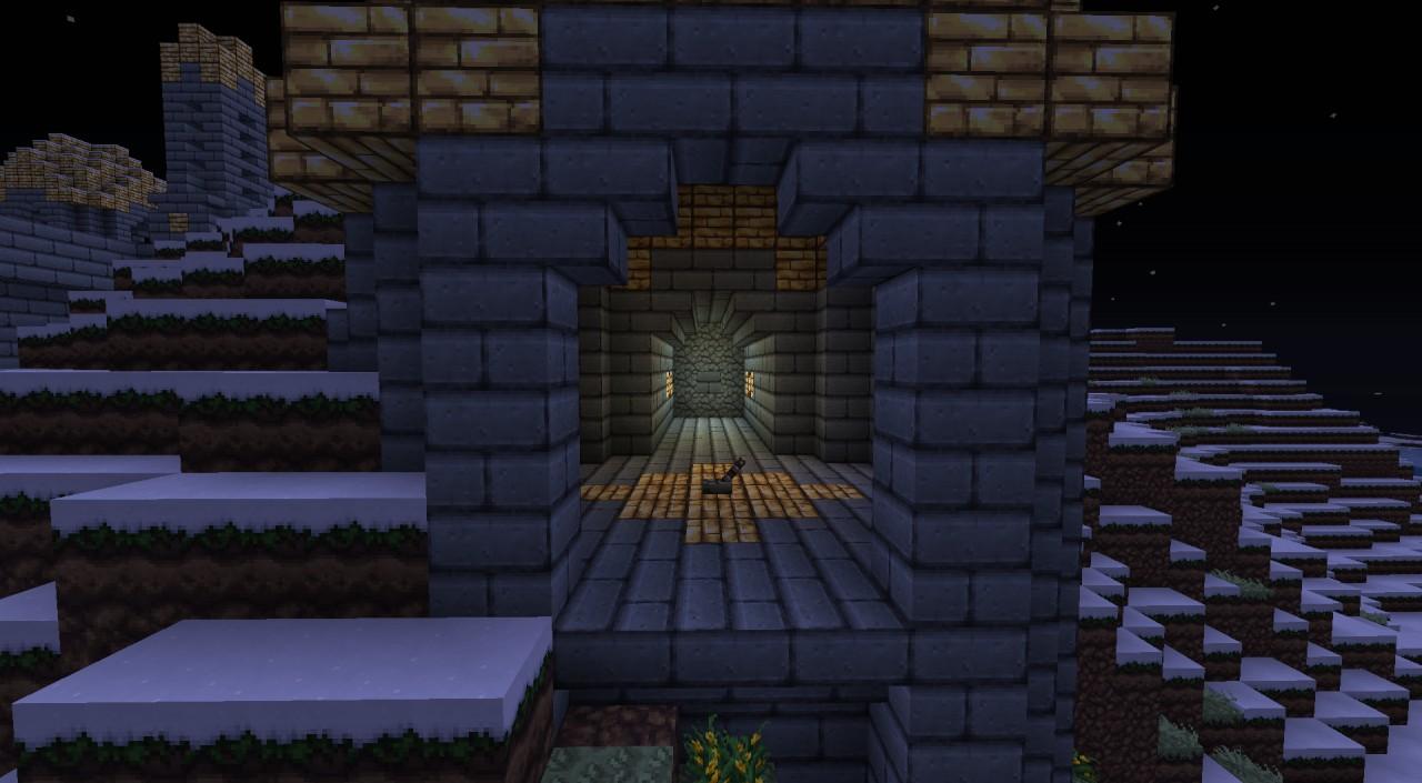 Minecraft Morrowind Build