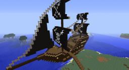 My first pirate ship Minecraft Project