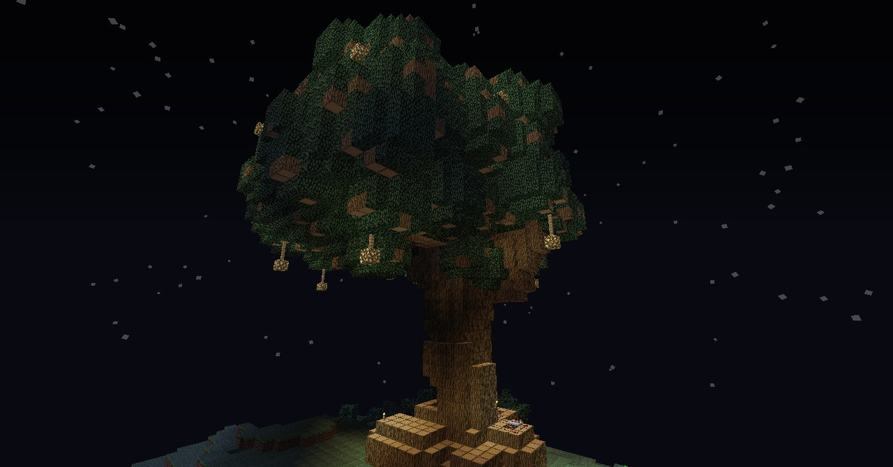 The tree of life made by the brush tool on the server!